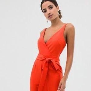 Asos Orange Jumpsuit